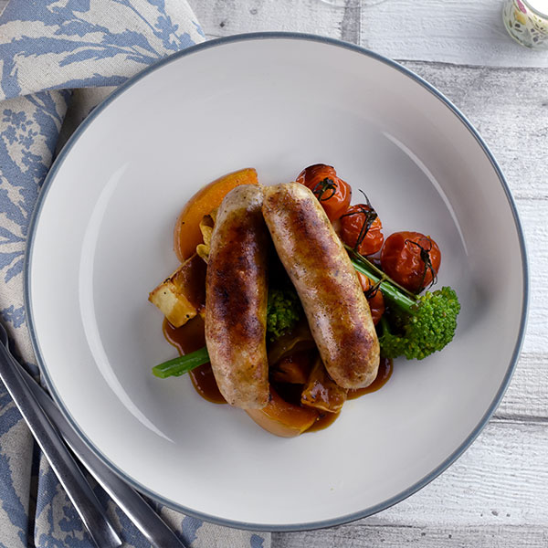 Sausage and veg